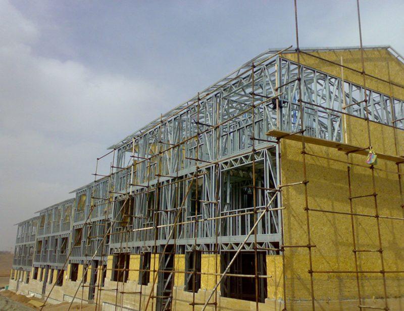 سبک سازی سازه ساختمان